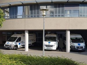 hopital de saint malo parking des ambulances